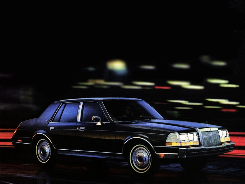 LINCOLN Continental Specs Amp Photos 1982 1983 1984