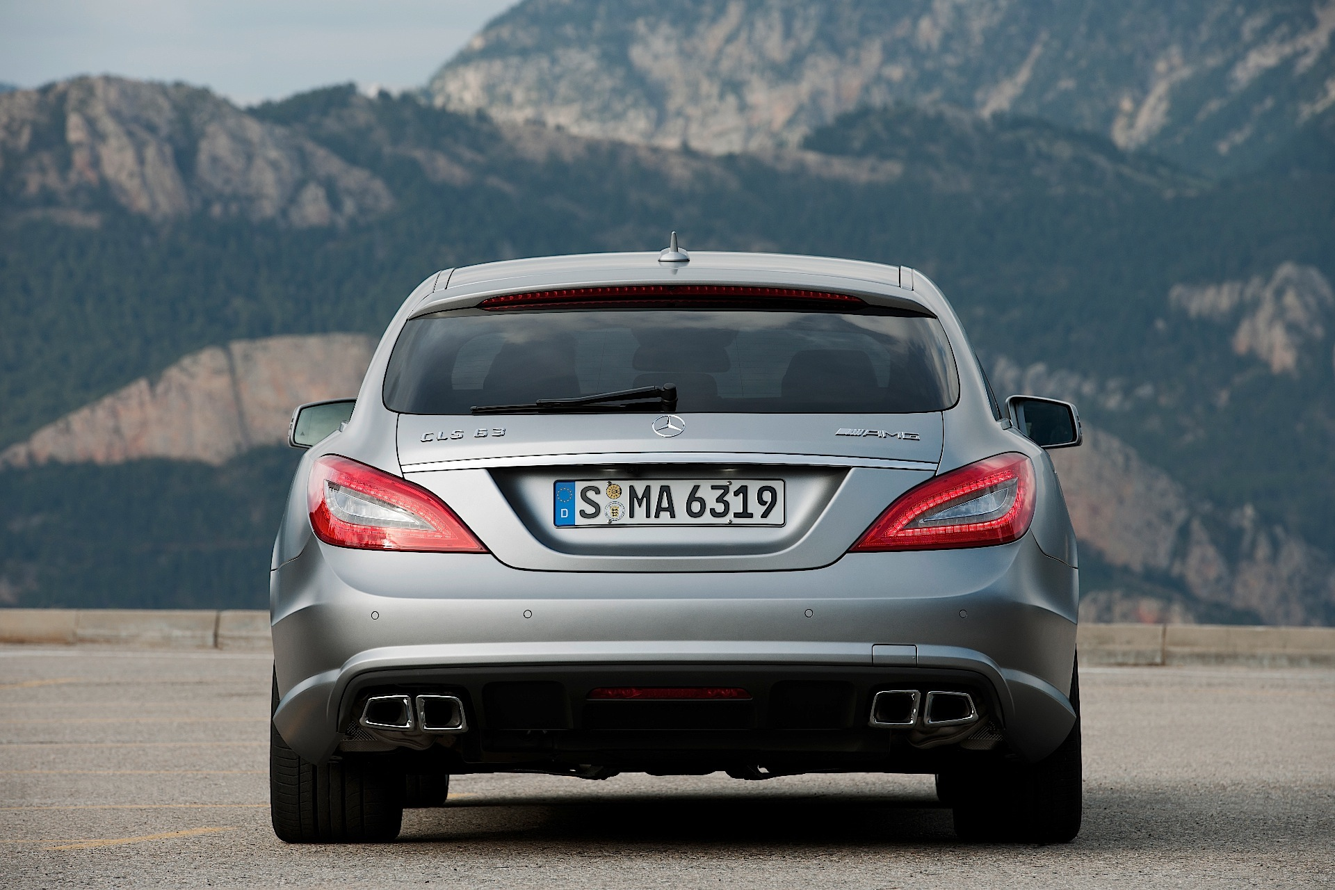 MERCEDES BENZ CLS AMG Shooting Brake Specs Amp Photos 2012