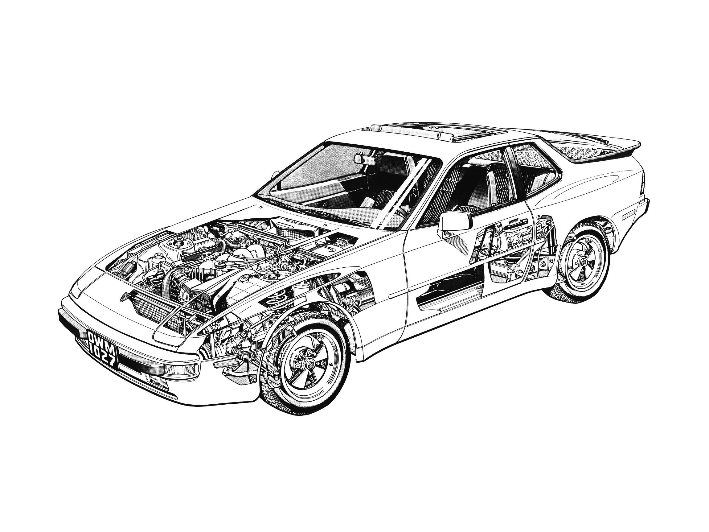 Porsche 944 Specs Amp Photos