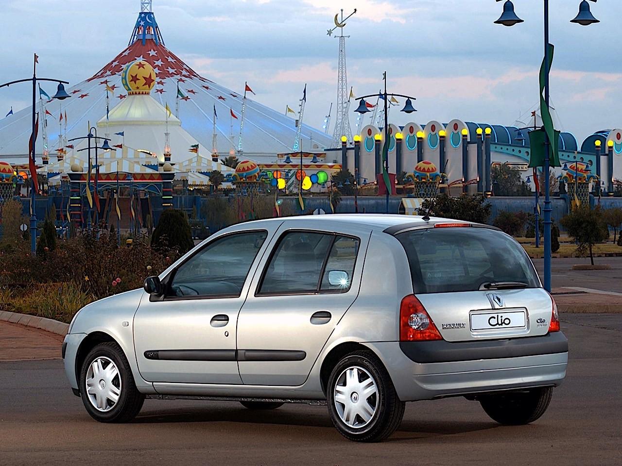 Renault Clio 5 Doors Specs 2001 2002 2003 2004 2005