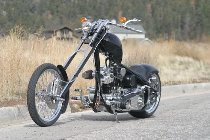 Image result for black big bear chopper