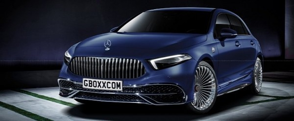 2019 Mercedes Maybach A Class Is Nothing But Wishful