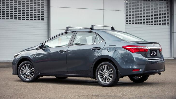 2014 toyota corolla sedan gains new
