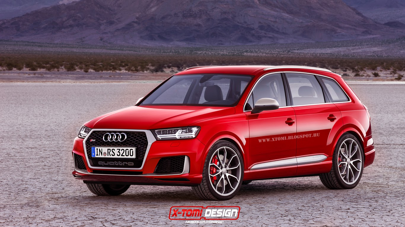 2016 Audi RS Q7 Looks Ready To Take On The Cayenne Turbo