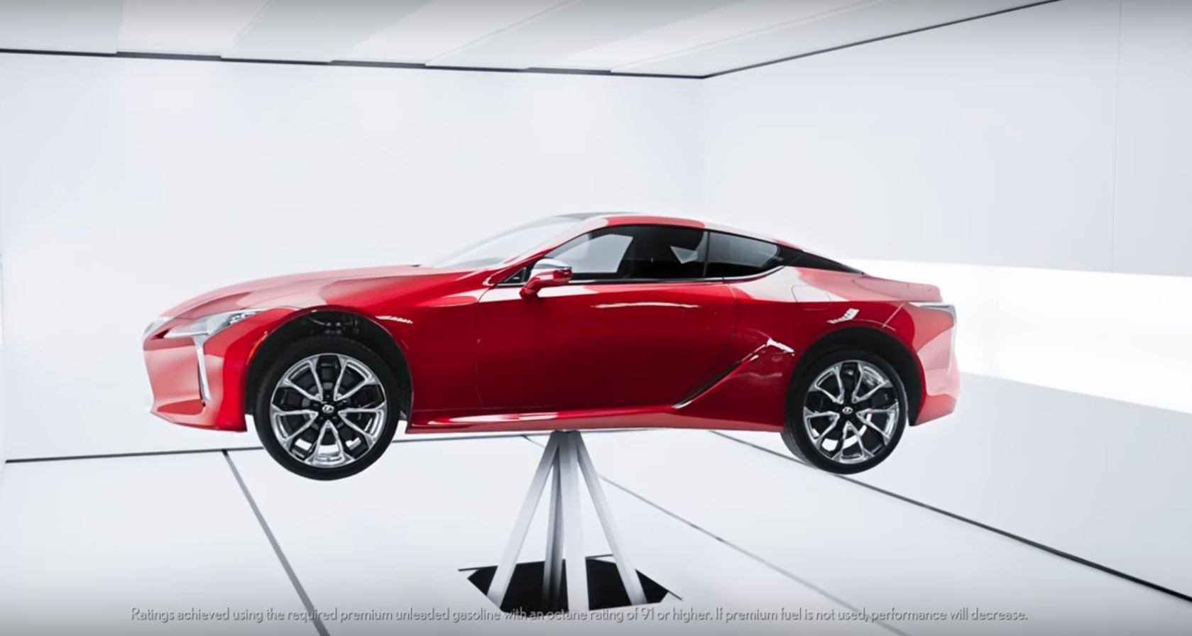 Lexus Downright Lies In 2018 LC Balance Commercial
