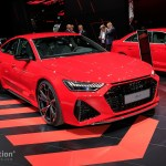 2020 Audi Rs7 Sportback Looks Predictable But Beautiful In Frankfurt Autoevolution