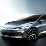 2020 Volkswagen Golf Viii Sketch Brings Back Memories Of The 3rd Gen Scirocco Autoevolution