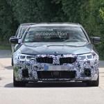 2021 Bmw M5 Makes Spyshots Debut 5 Series Shed Some Camo Autoevolution