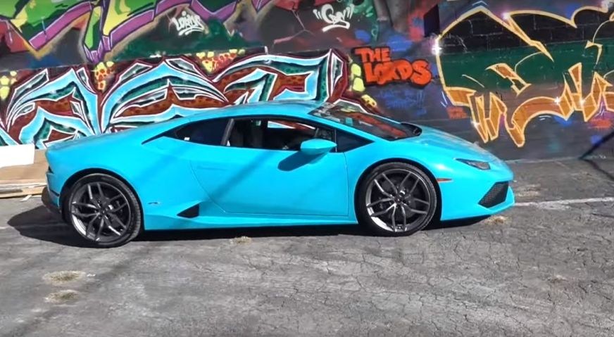Blue Glauco Lamborghini Huracan Is a Smurf's Poster ...