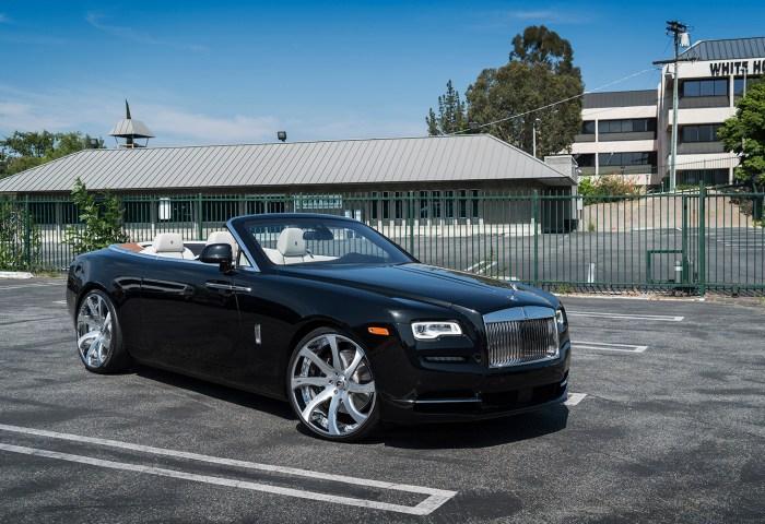 First Rolls Royce Dawn Gets Forgiato Wheels Autoevolution