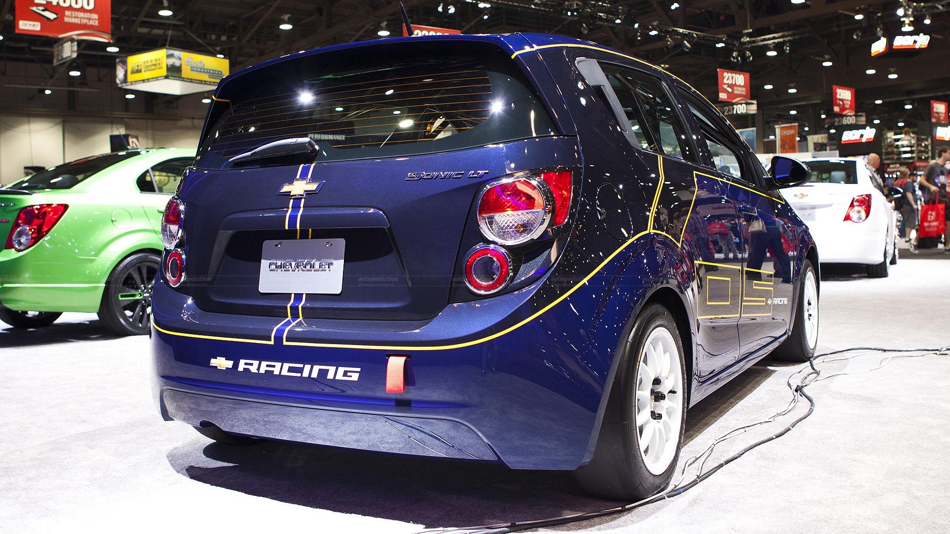 2012 Sema Chevy Sonic B Spec Race Car Live Photos