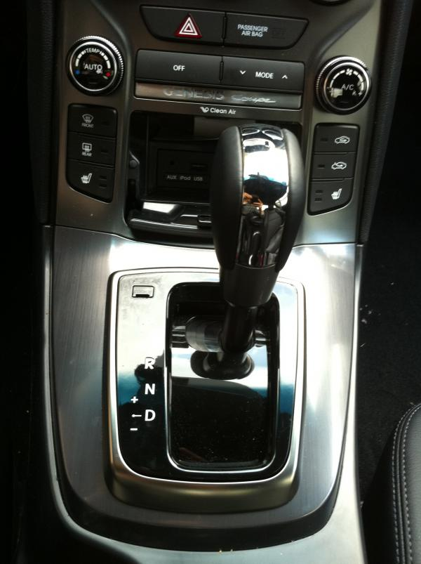 2013 Hyundai Genesis Coupe Spotted Undisguised Interior