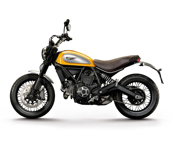 Ducati Scrambler 350 Anni 70 Newmotorjdico