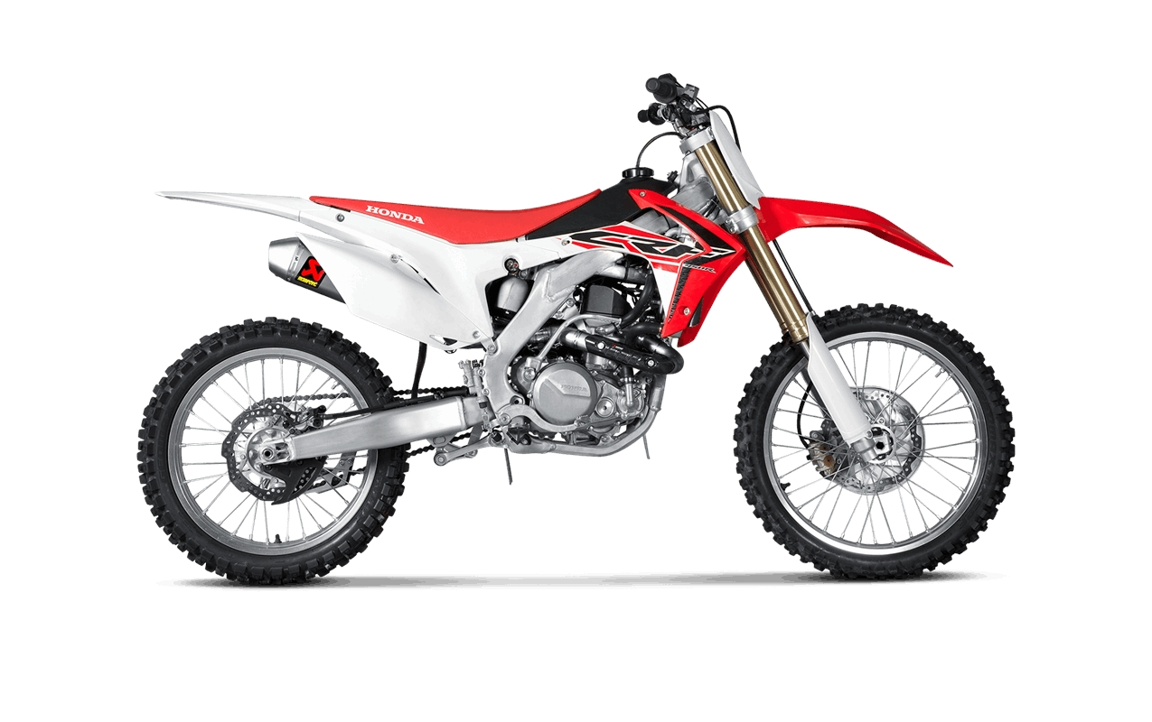 Honda Crf450r Upgraded With Akrapovic Exhausts