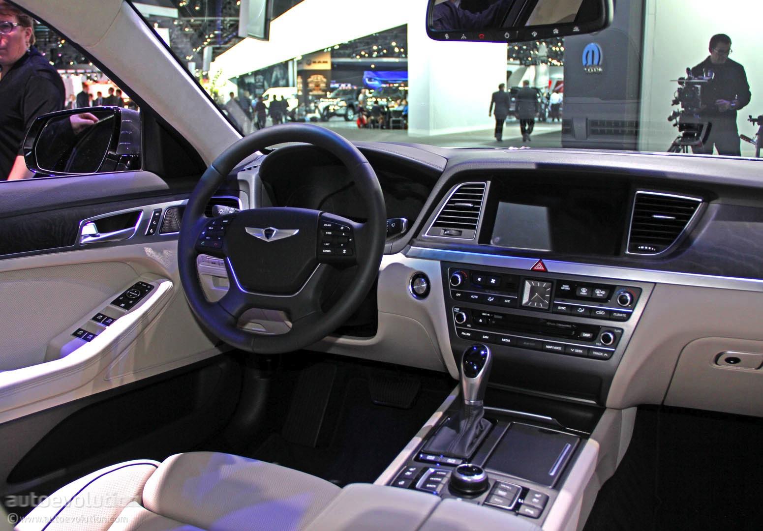 2015 Hyundai Genesis US Pricing And Equipment Announced