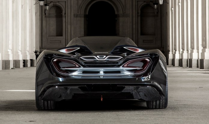 the ied syrma concept car is a futuristic mclaren lookalike