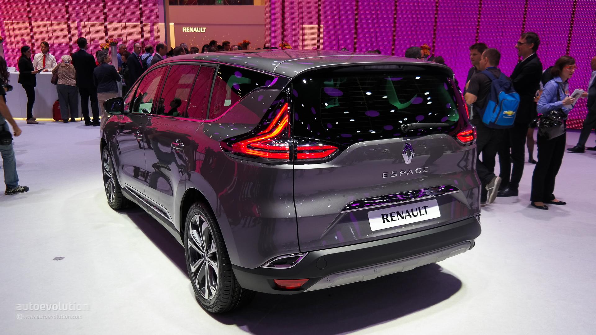 2015 Renault Espace Has A Clio RS 200 Horsepower Engine