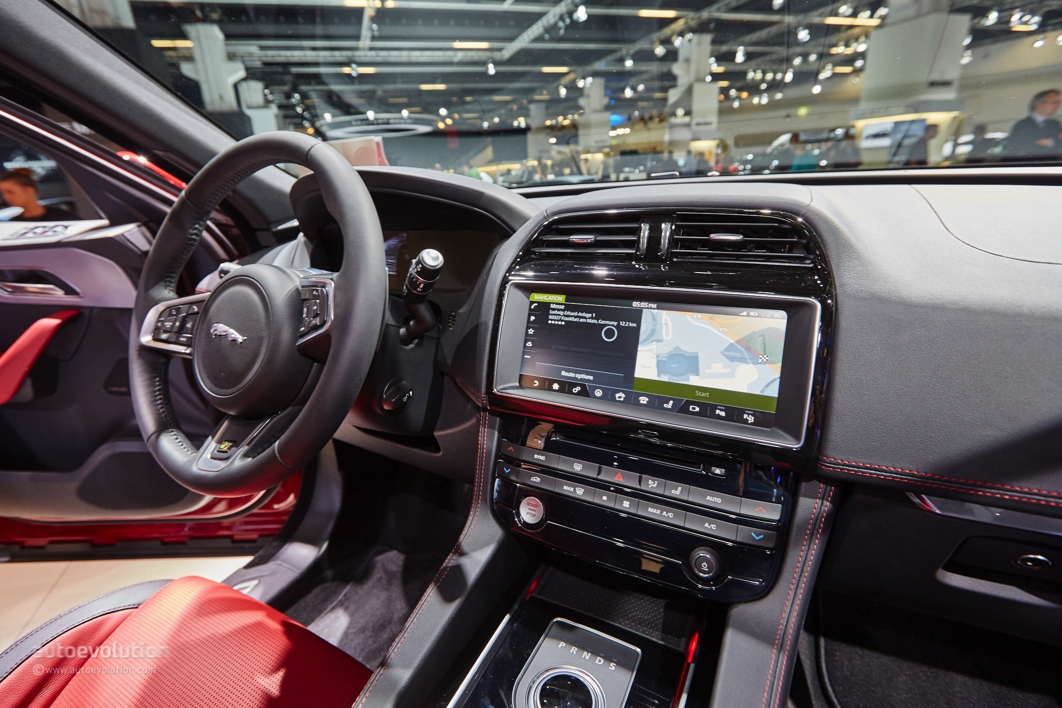 2016 Jaguar F Pace Looks Massive In The Metal On The