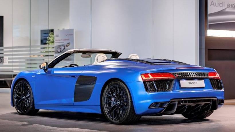 Audi R8 Spyder Pictures 2017 Bedwalls