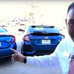 2017 Honda Civic Hatchback Vs Sedan Vs Coupe Comparison Autoevolution