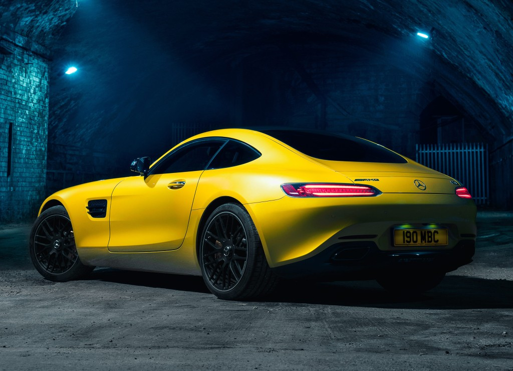 2017 Mercedes AMG GT Priced From 112125 Vinyl Seats