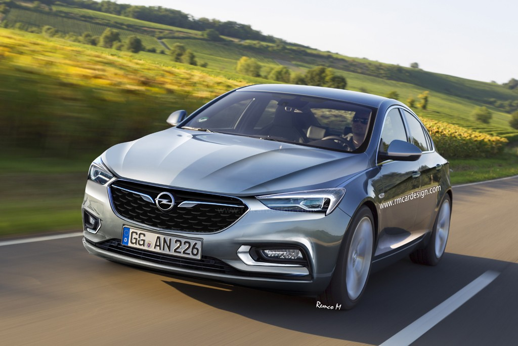 2017 Opel Insignia B Rendered Based On Latest Buick Design