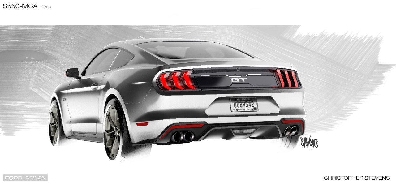 2018 ford mustang gt exhaust