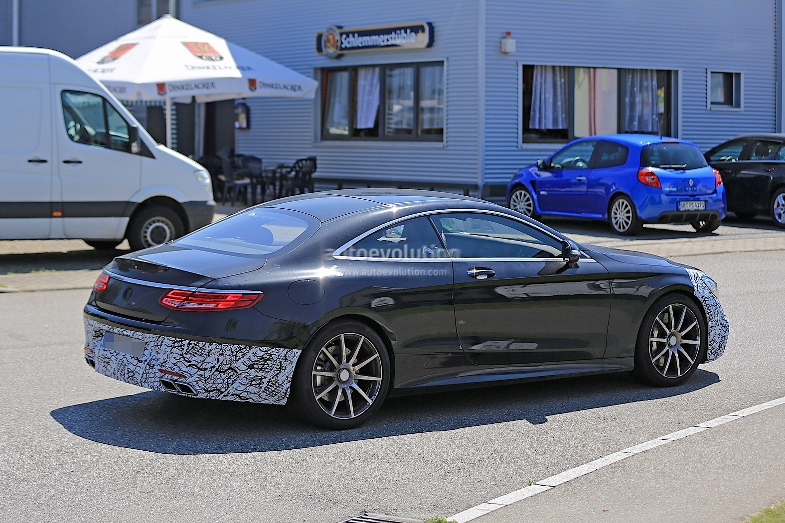 2018 Mercedes AMG S63 Coupe Facelift Caught Testing For