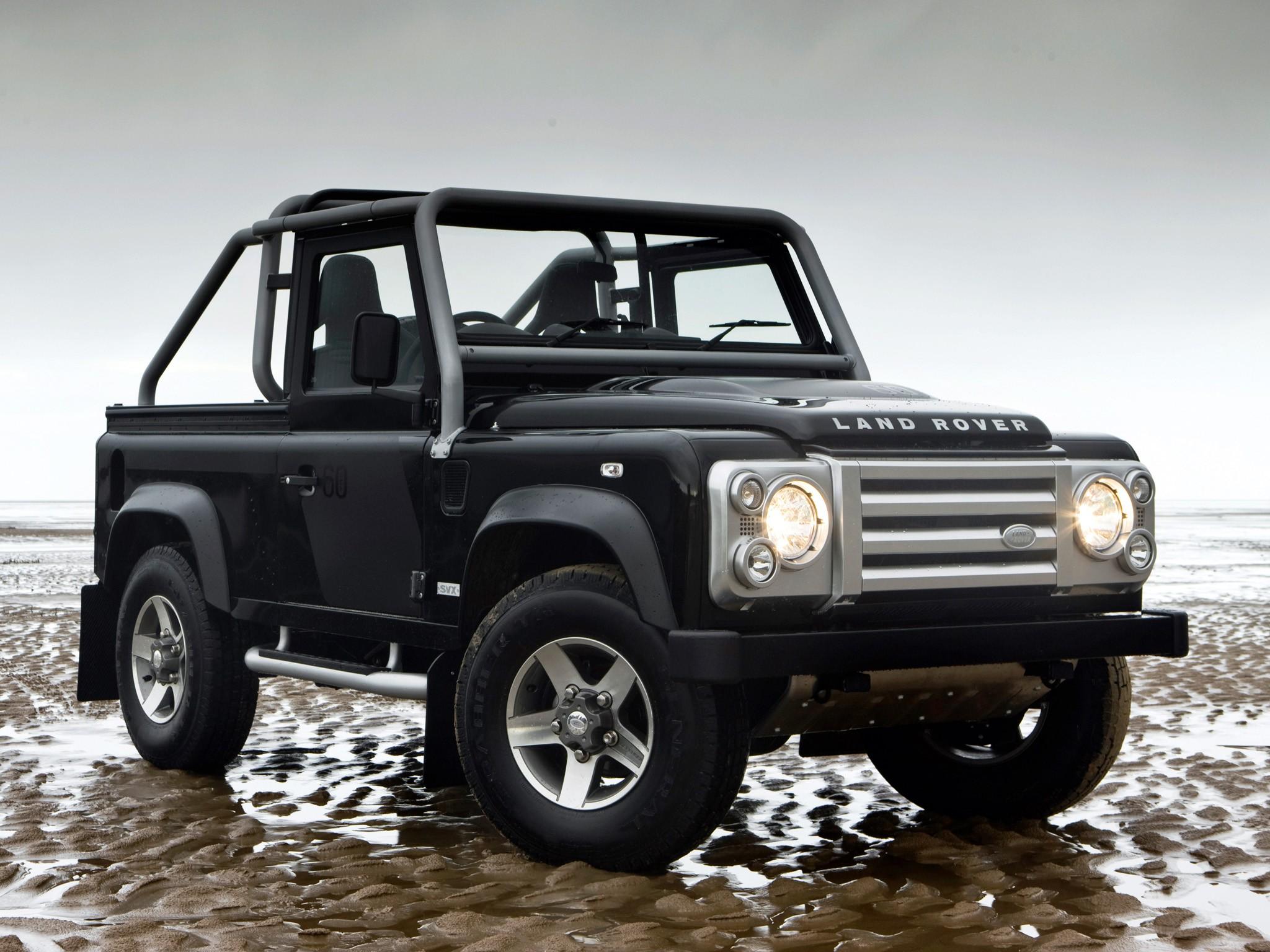2019 Land Rover Defender SVX Considered Jaguar SVX Models Also