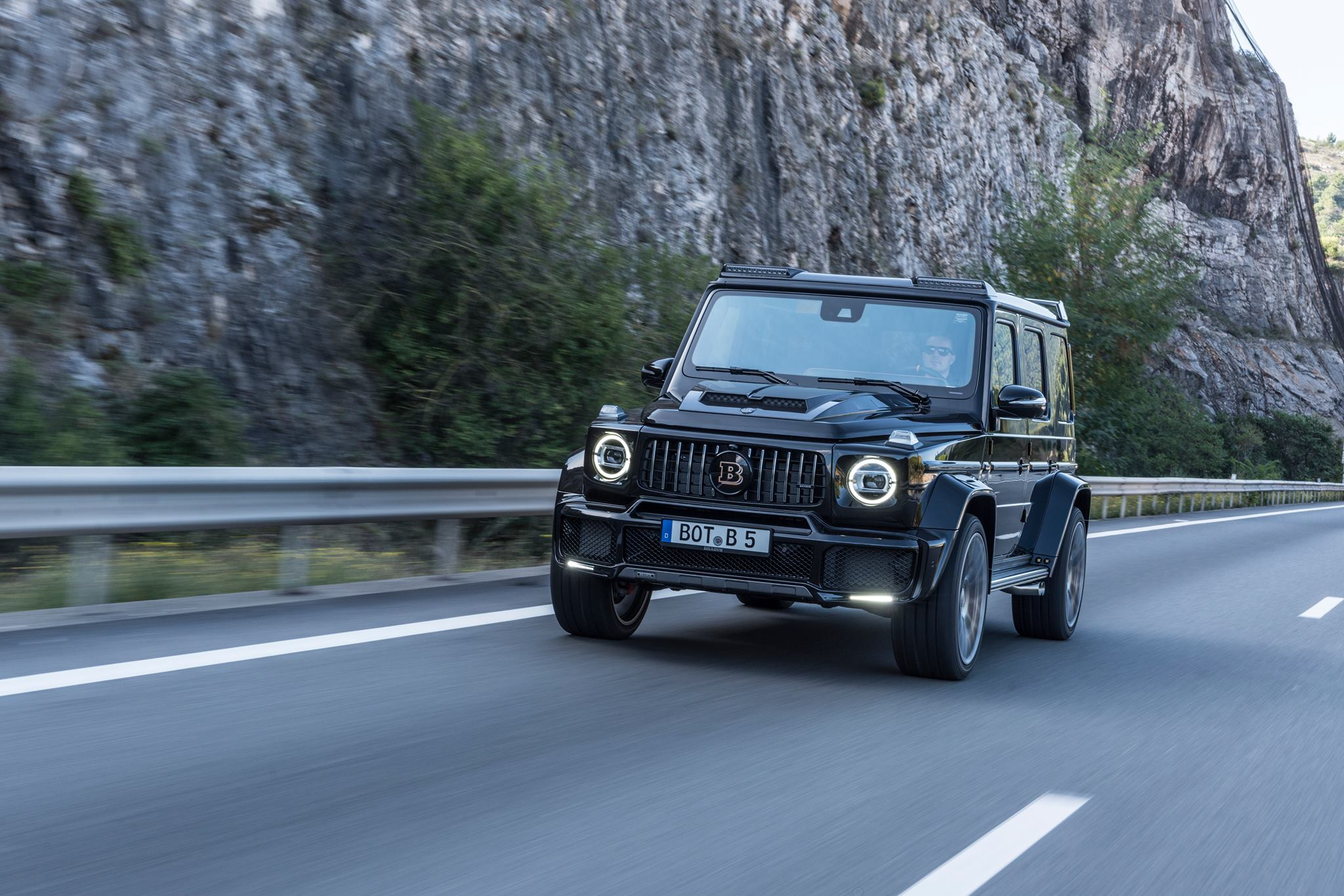 2019 Mercedes AMG G63 Tuned By Brabus Makes 700 HP