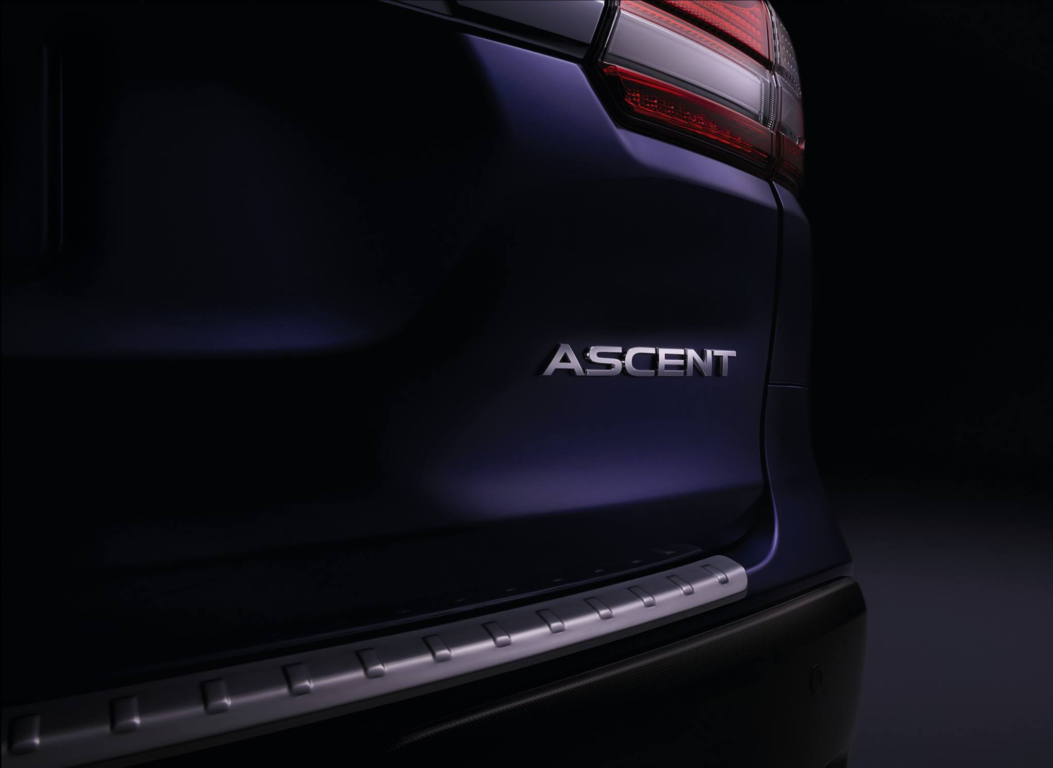 2019 Subaru Ascent Teaser Shows Second And Third Row