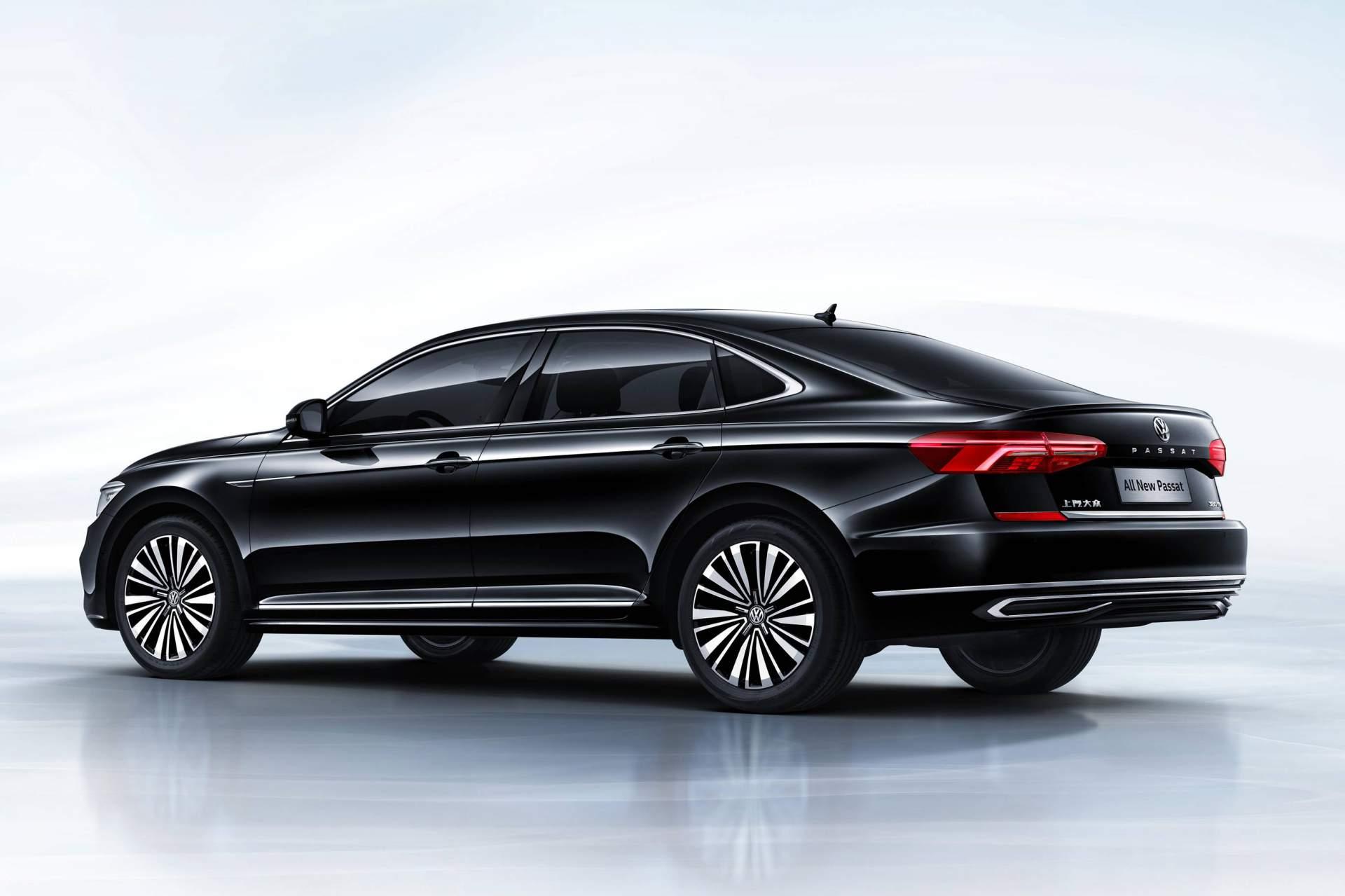 2019 Volkswagen Passat Revealed In China Previews US