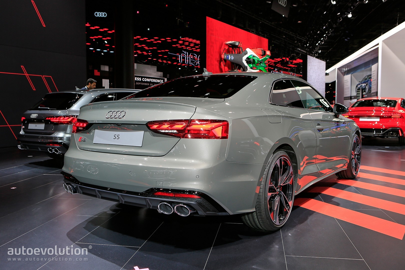 2020 audi s5 and a5 show invisible
