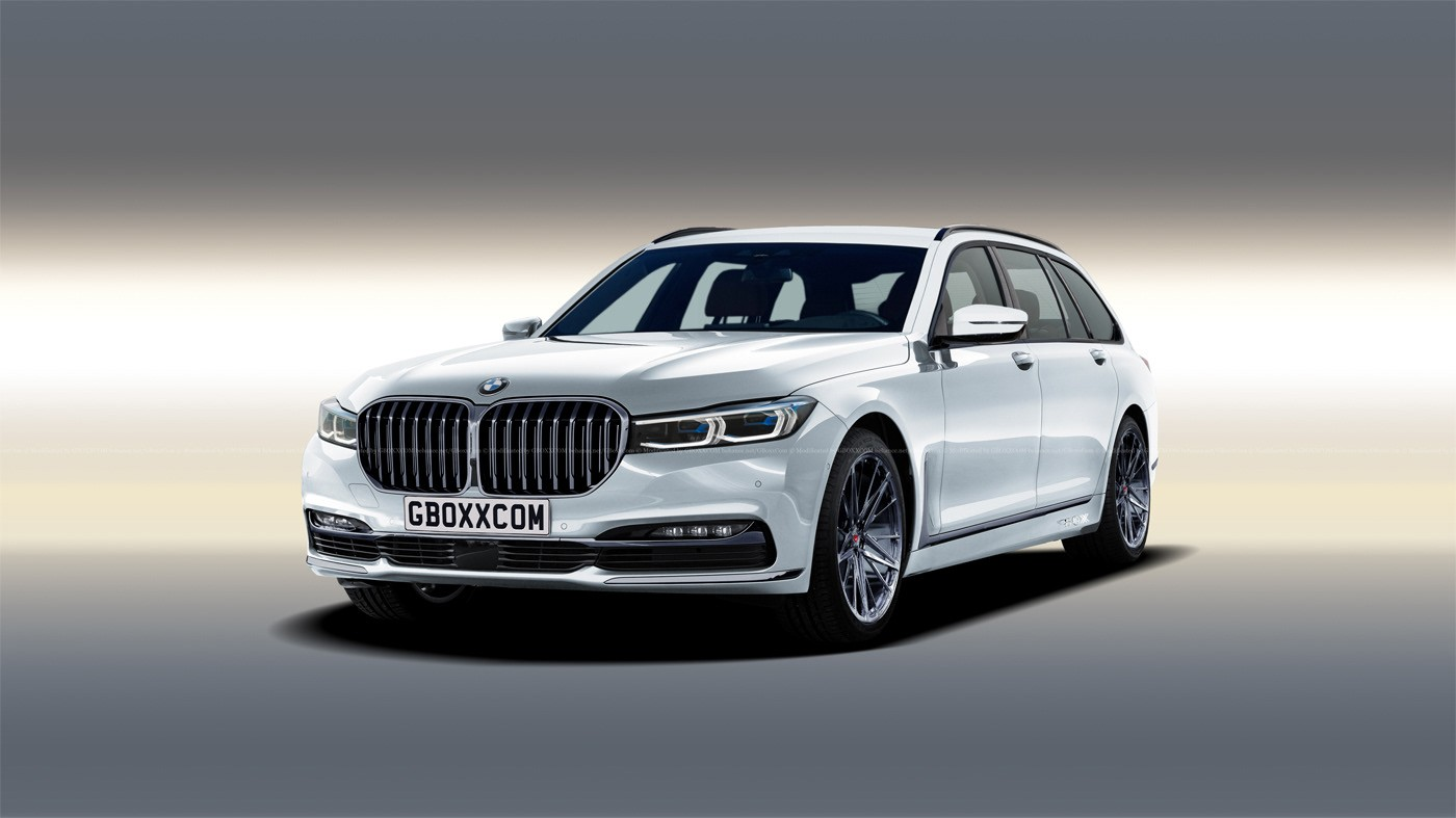 2020 Bmw 7 Series Facelift Imagined As Wagon And Cabrio