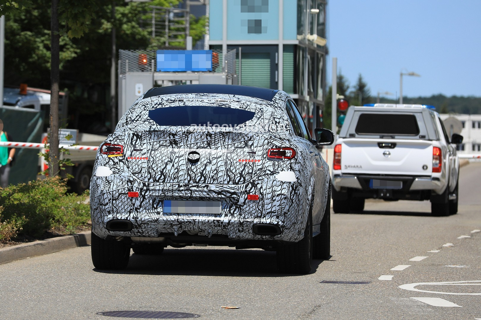 2020 Mercedes Benz GLE Coupe Makes Spyshots Debut