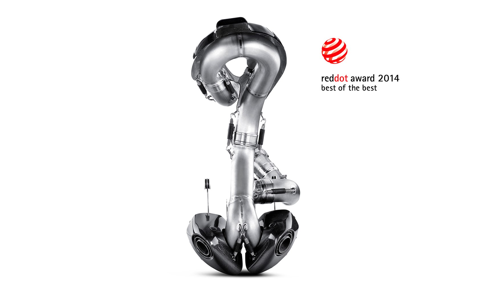 Akrapovic Wins Best Of The Best Red Dot Award For Ducati