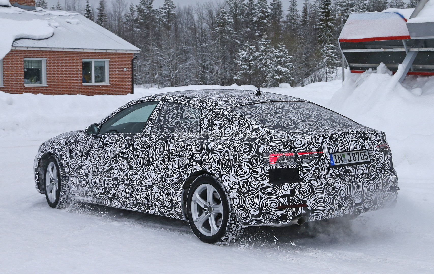 All New 2017 Audi A5 Sportback 4 Door Coupe Spied For The