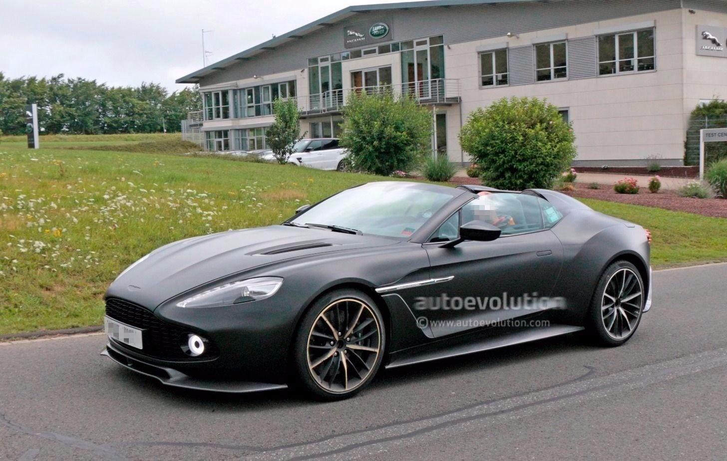Spyshots Aston Martin Vanquish Zagato Speedster And