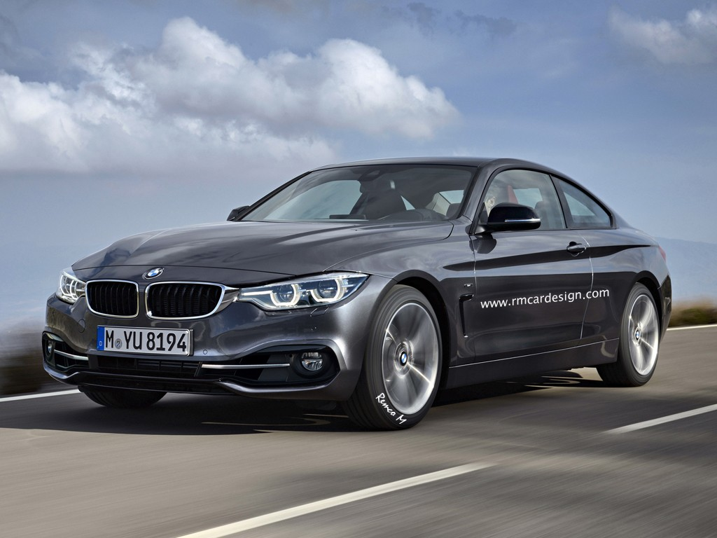 BMW 4 Series Coupe Facelift Rendered Looks Like The Real