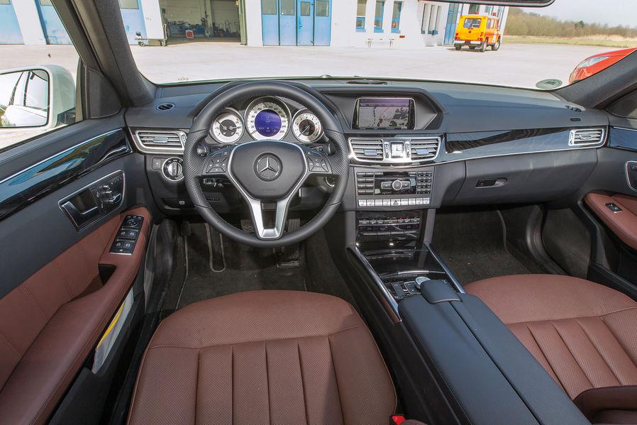 BMW F11 520i Touring Vs Mercedes Benz E200 Estate