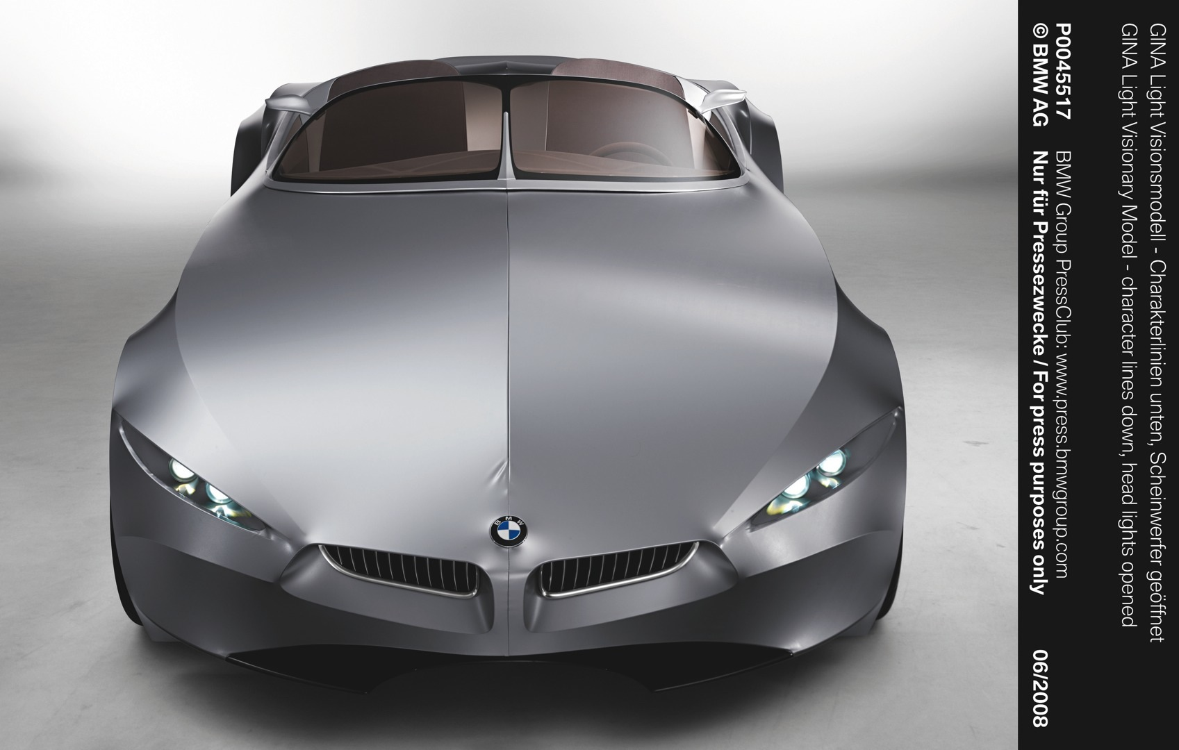 BMW GINA Concept To Be Showcased At Dream Cars