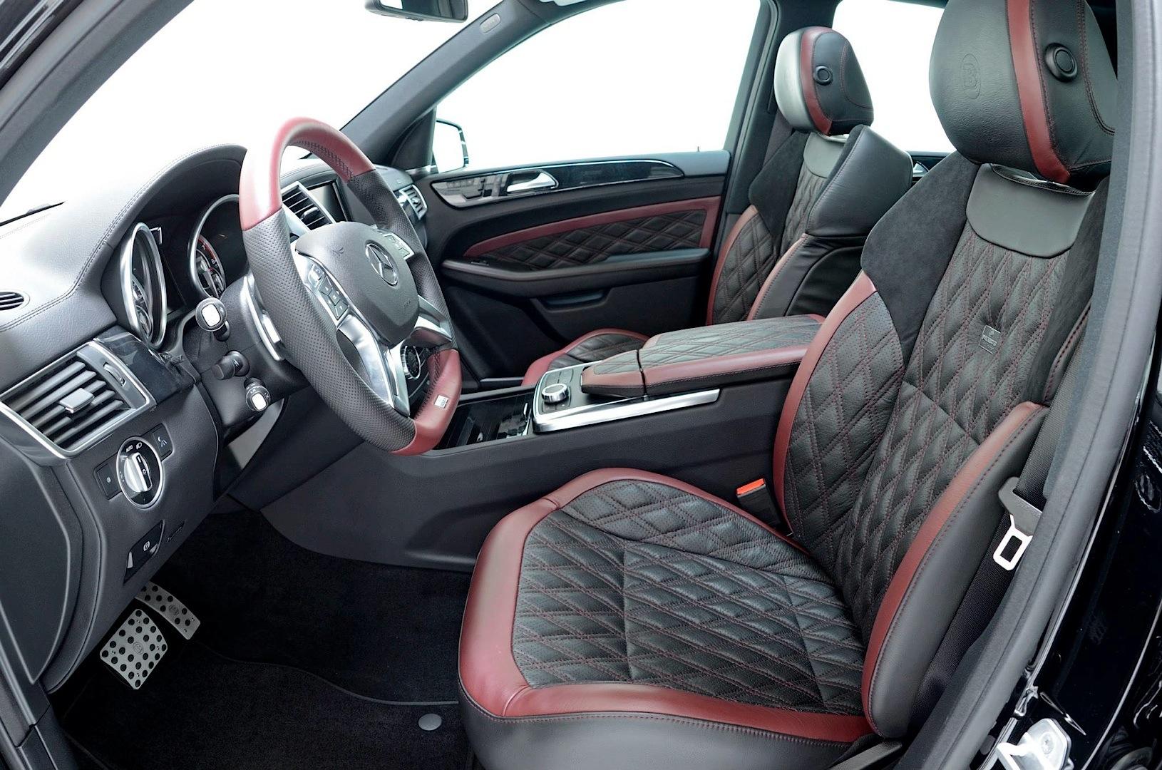Brabus Unleashes 700 Hp Mercedes Benz ML 63 AMG