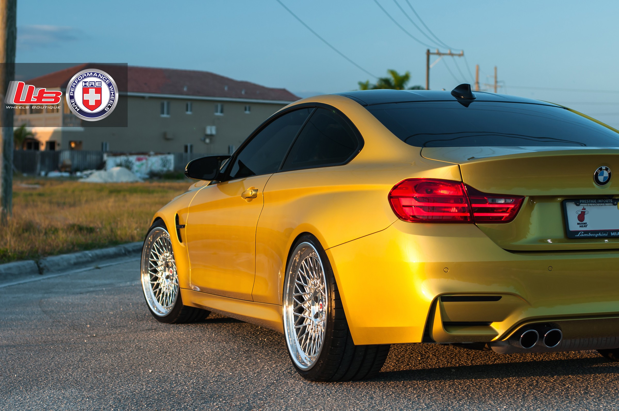 Can The BMW M4 Pull Off A Classic Set Of Wheels