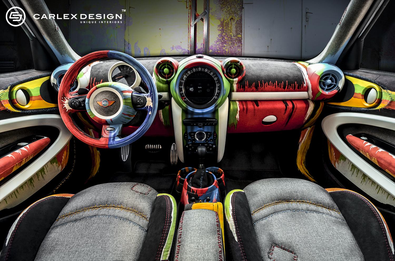 Carlex Design Finally Reveals The MINI Paceman Painter