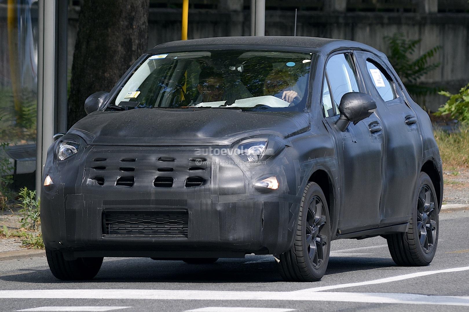 Fiat 500X Interior Spied Up Close Autoevolution