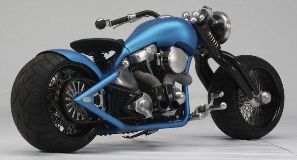 Glasgow Kiss Custom Bike By Kootenay Motorcycle Art