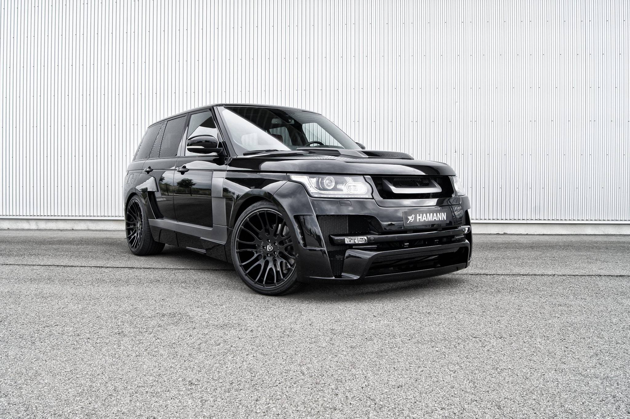 Hamann Mystere Range Rover Goes from Pink to Black autoevolution