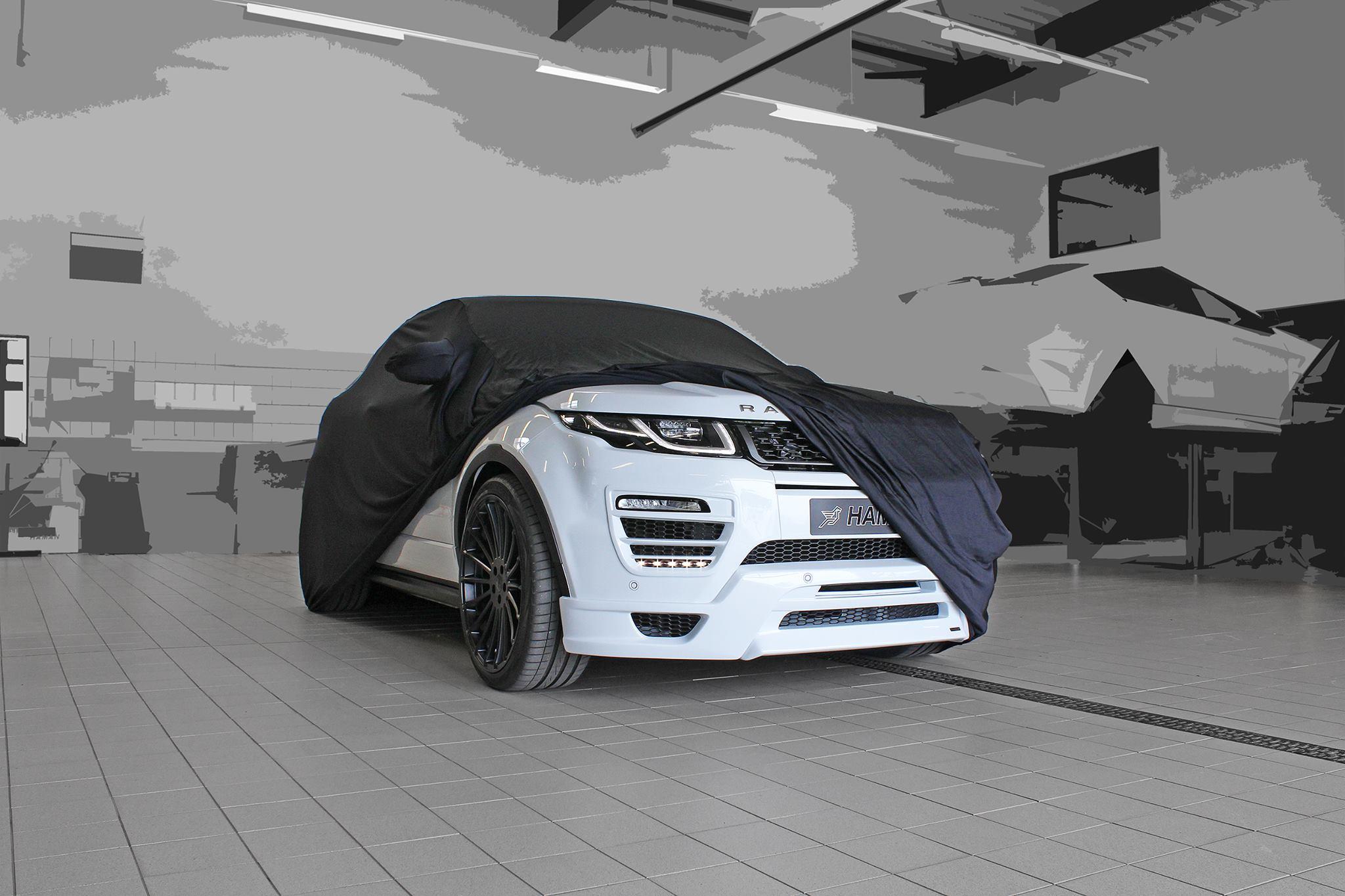 Hamann Range Rover Evoque Cabrio Makes Video Debut autoevolution