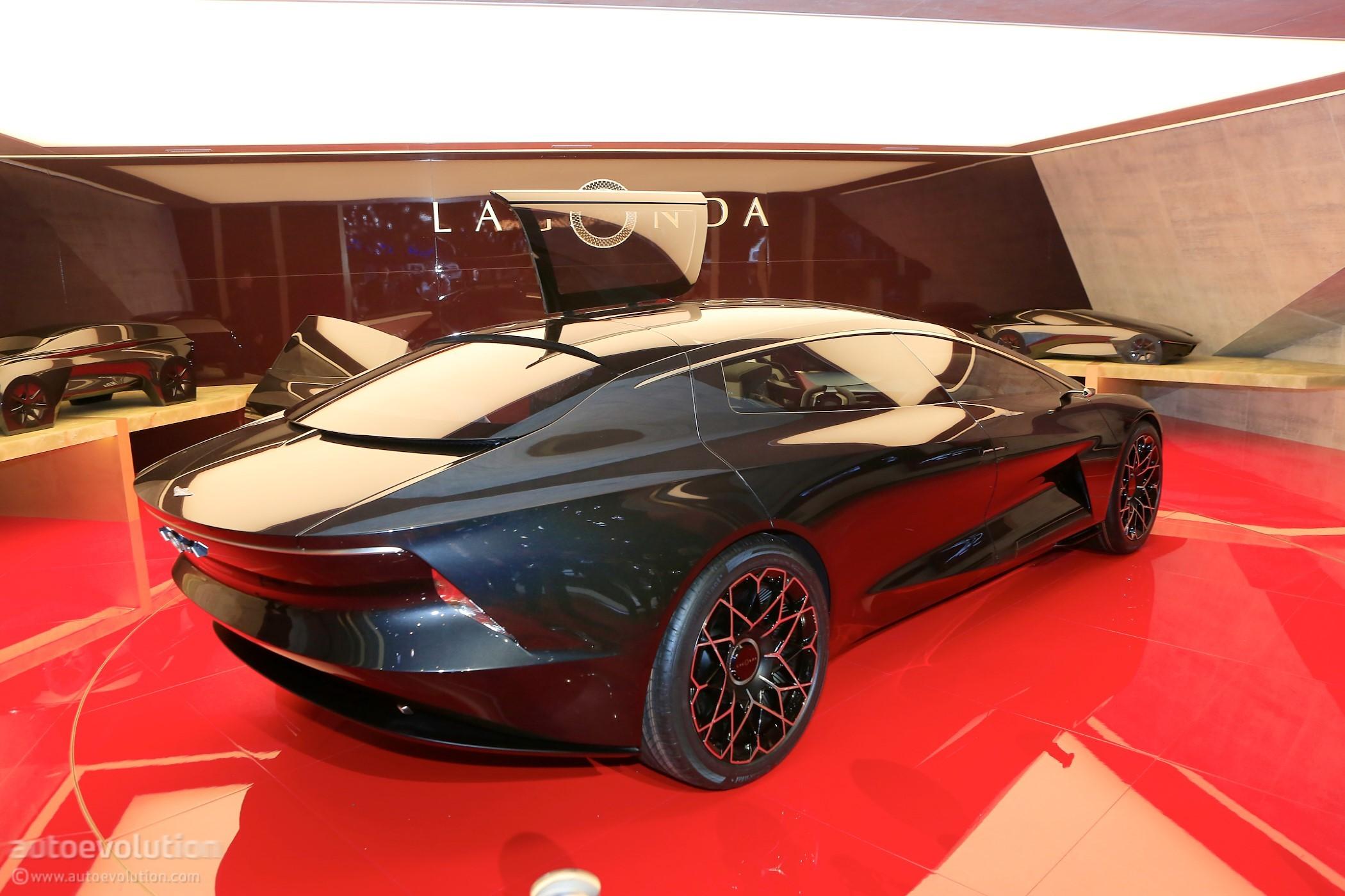 Lagonda Vision Concept Lands In Geneva To Wash The Sins Of