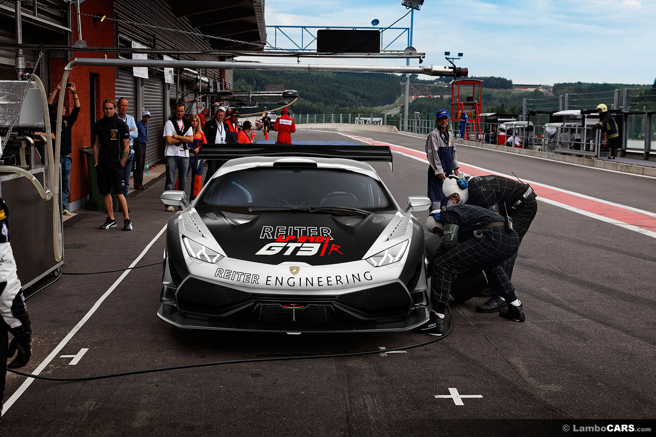 Lamborghini Huracan GT3 Race Car Rendered Autoevolution